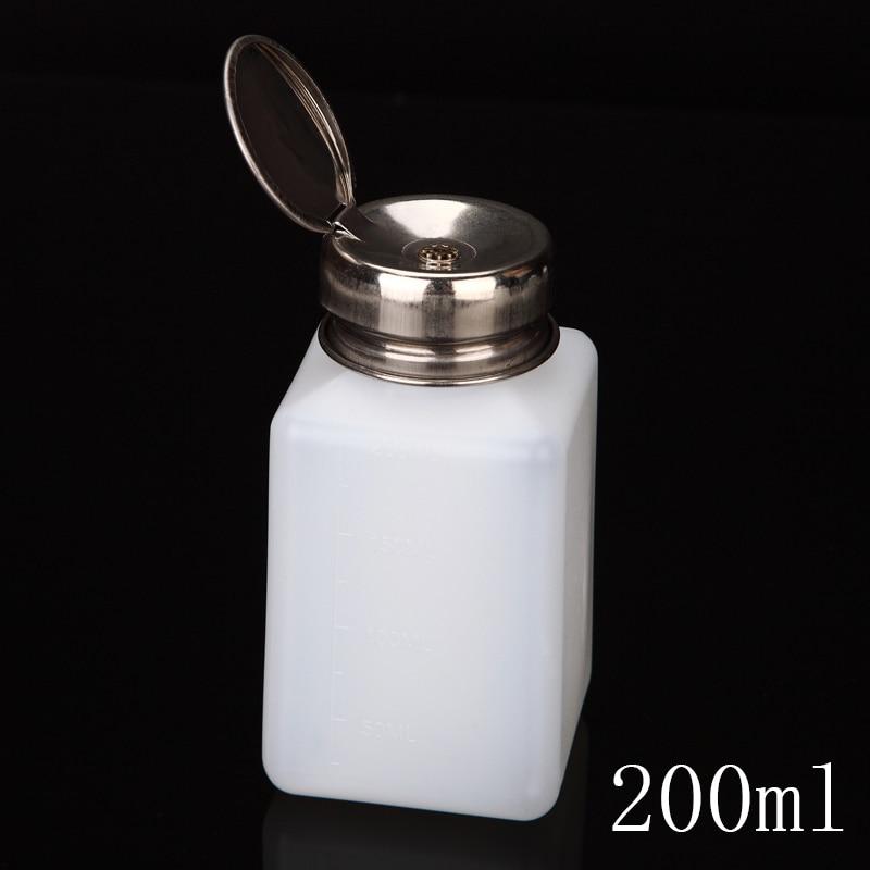 Monja 75/150/200 / 210ml Dırnaq Art Mini Nasos Dağıtıcısı Boş - Dəriyə qulluq alətləri - Fotoqrafiya 4