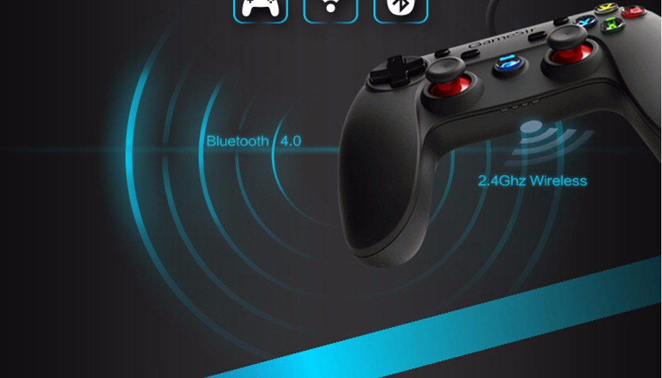 GameSir G3s Gamepad for PS3 Controller Bluetooth&2.4GHz snes nes N64 Joystick PC for Samsung Gear VR Box for SONY Playstation 10