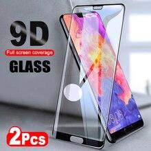 2 stks/partij 9D Gehard Glas Voor Huawei Honor 10 Lite Spelen 8X Max Screen Protector Voor Huawei P20 Pro Lite beschermende Glas Film