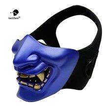 TACTIFANS Airsoft Goggles Hannya Halloween Army 2 BB Gun Paintball Prajna Mask