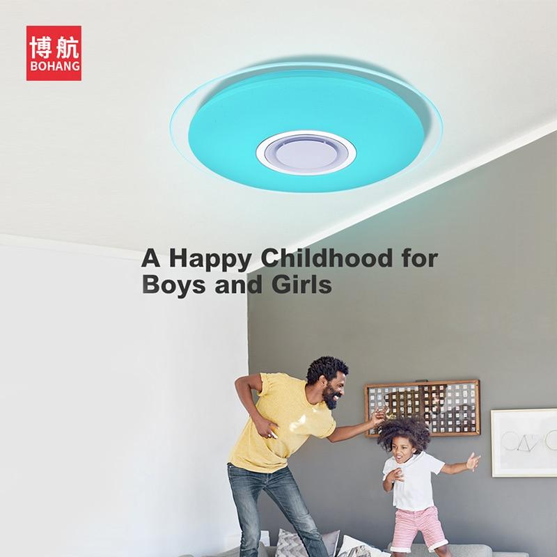 Moderno LED luces de techo RGB regulable 25W 36W 52W APP control - Iluminación interior - foto 2