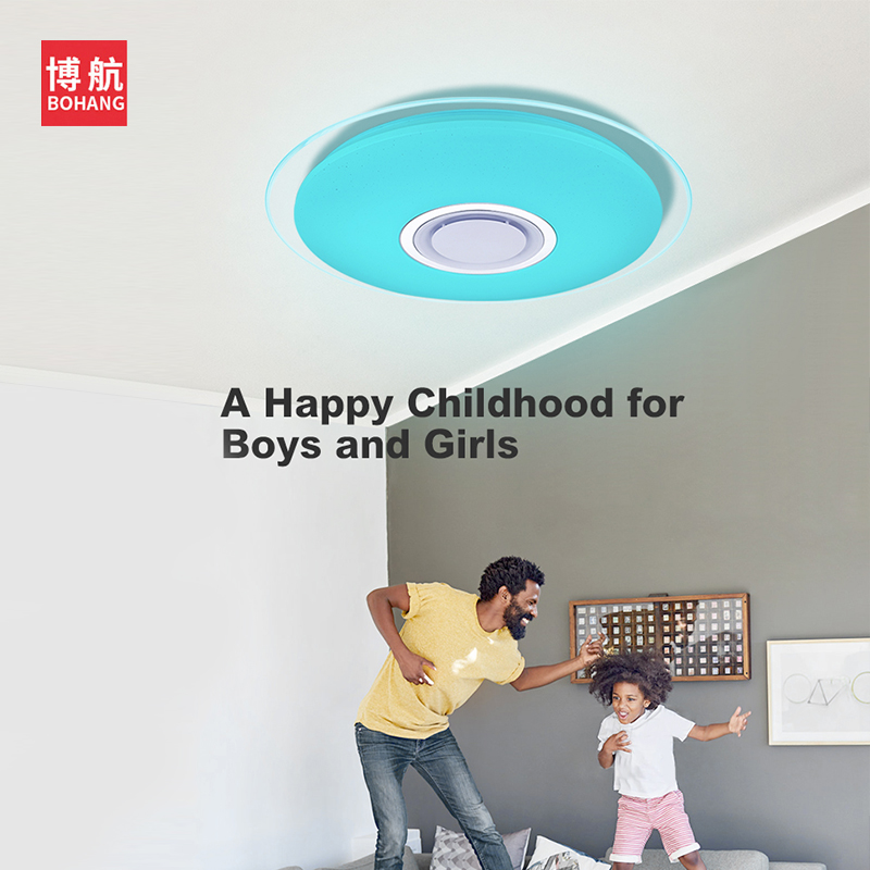 Ceiling Lights & Fans Modern Led Ceiling Light 25w Smart Remote Control Rgb Dimmable Color Changing Lamp For Livingroom Bedroom Ac165-265v Ceiling Lights