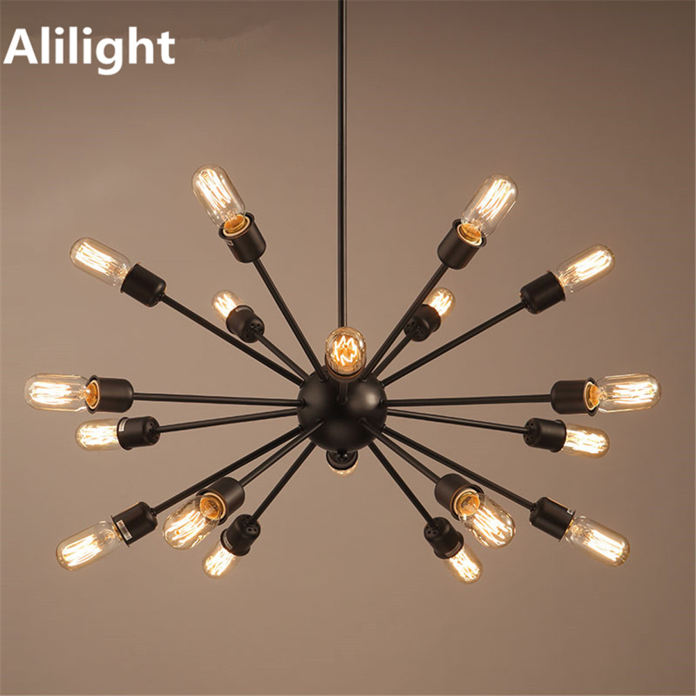 Vintage Metal European Style Chandelier Retro Village Simple Lighting Light Lamp For Bar Coffee Dining Room Decor Fixtures In Chandeliers From Lights