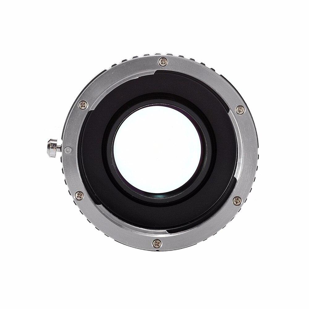 מוקד כמפחית מהירות המאיץ טורבו מתאם עבור Canon EF EOS עדשה Sony NEX E-Mount מצלמת NEX-7/6/5/3 A7 A7R A7S