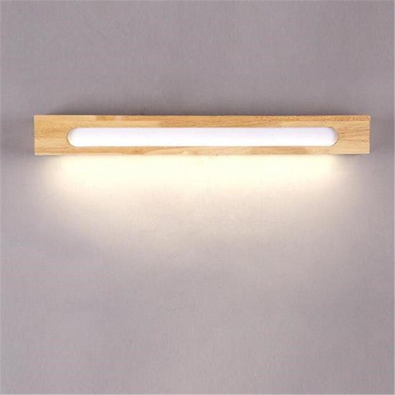 Holz Spiegel Licht Einfache Modernen Chinesischen Stil Wohnzimmer