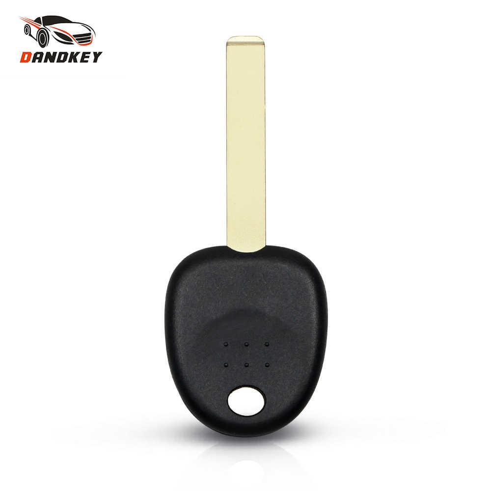 Dandkey transponder çip anahtar Kabuk Için Hyundai IX35 IX20 Verna Accent Solaris Için Kia Yedek Anahtar Araba boş kılıf Fob Kapak