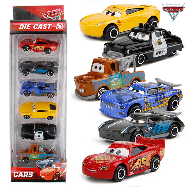 Aliexpress Com Buy 1 64 Disney Pixar Cars 3 Metal Car