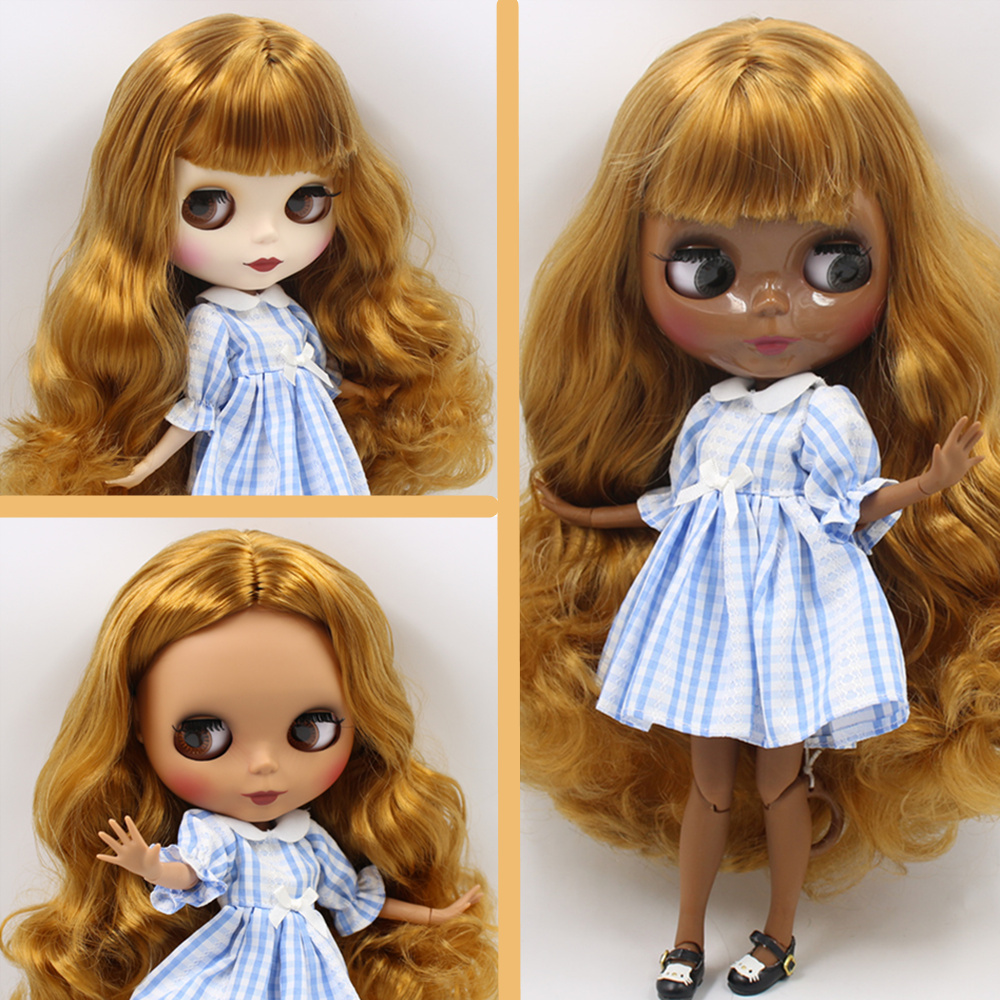ICY Nude Blyth Custom Doll No. BL0635 Golden hair 1/6 bjd,pullip,licca,jerryberry-in Dolls from Toys & Hobbies    1