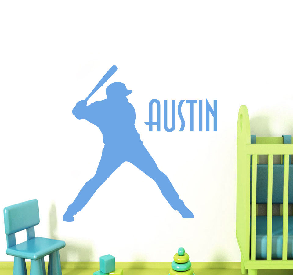 Wall Decals Baseball Sport Decal