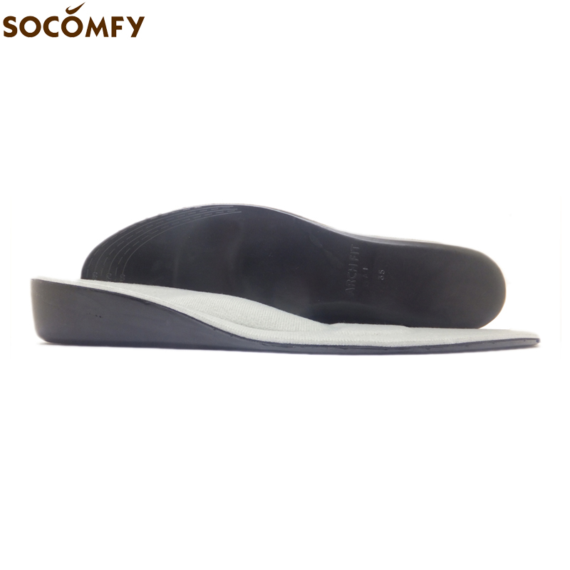 SOCOMFY 3.5CM Memory Foam Heel Insert Increase Taller Height Lift Elevator Shoes Insole Pad Cushion For Men/Women цена 2016