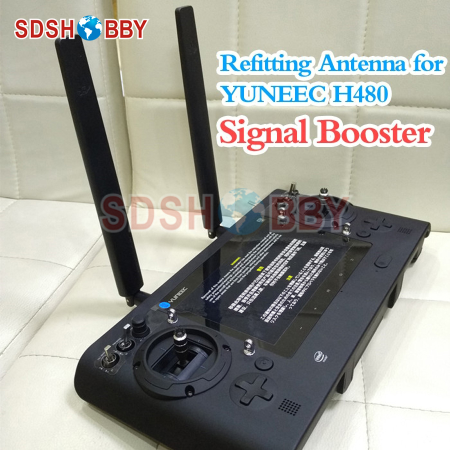 H480 Remote Controller Modified Extended Range Refitting Antenna Omni-directional Range Extender for YUNEEC Typhoon H480 yuneec typhoon h rtf black grey гексакоптер