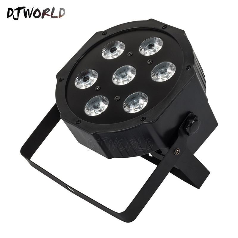 Top Selling LED Par 7x18W RGBWA+UV Stage Light Profession DMX512 Effect Lighting Power In/Out For Clubs Home Entertainment 30lot professional sound equipment led par64 light 7x18w rgbaw uv par light effect