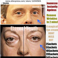 Instantaneamente Ageless Produtos Rosto Endurecimento Elevador Creme Para Os Olhos de DOIS (2) microcream Saquinhos Sem as Agulhas anti-rugas