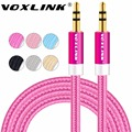 VOXLINK 3.5 mm Jack Audio Cable 3.5mm Male to Male Stereo Auxiliary Cord for iPhone 6 6S car PM4 PM3 headphone Speaker aux cord