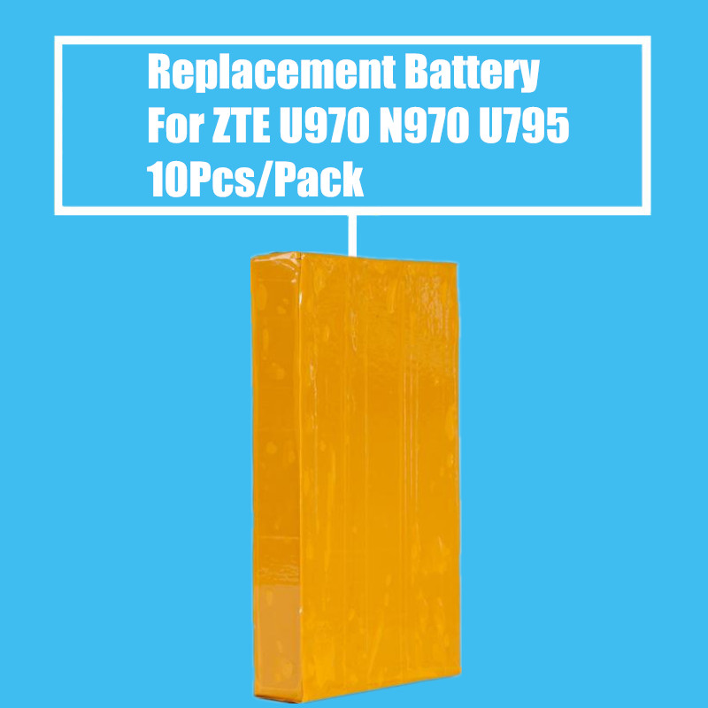 New Arrival 10PCS/PACK 1600mah Replacement <font><b>Battery</b></font> for <font><b>ZTE</b></font> <font><b>V970</b></font> N970 V807 V889M V889S V930 V930 U795 U930 U970 High Quality image