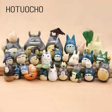 Hotuocho 2018 New Arrival Resin Japan Style Fairy Figurines Miniatures Home Decoration Accessories Gift For Kids Fairy Garden(China)