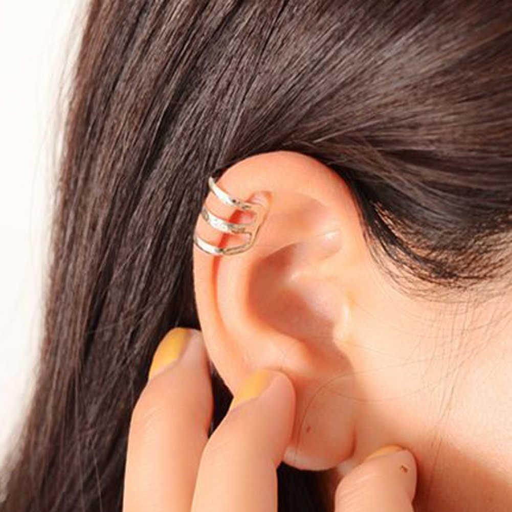 1 шт. минималистский стиль полые u-образный зажим для на Хрящ уха серьги невидимые без проколов