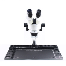 WL Aluminum Alloy Microscope Stand Base High Heat Resistance