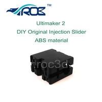Ultimaker 2 UM2 הזרקת חלקי פלסטיק ללא פליז תותב שקופיות 50 יחידות