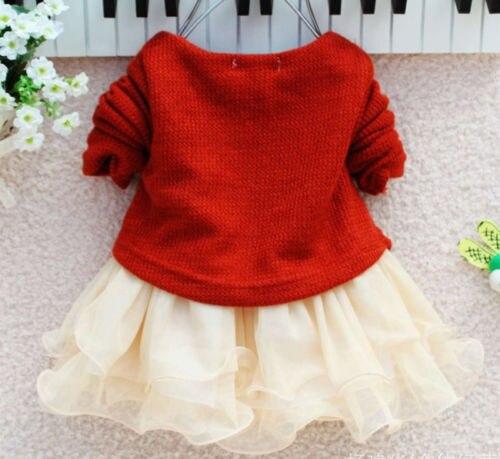 Baby-Girl-dress-Long-Sleeve-Bow-Infants-Newborn-Baby-Clothes-Pink-Princess-Tutu-Dress-4