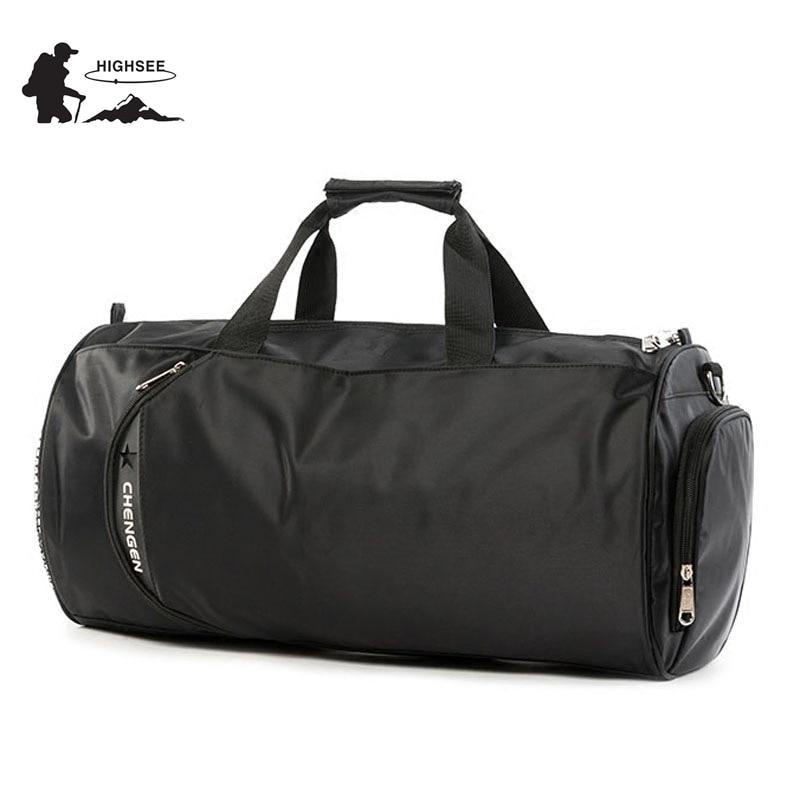 HIGHSEE Training Bag For Gym Men Large Sport Bag Men For Fitness Sport Shoes Waterproof Fitness Gym Bag Women Sac De Sport