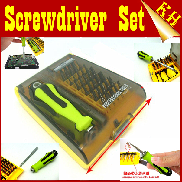 free shipping best bt 8914 37 in 1 magnetic screwdriver set repairing tools for laptop mobile. Black Bedroom Furniture Sets. Home Design Ideas