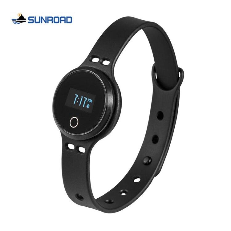 91b02f20aa78 Sunroad Smart sport pulsera salud fitness Tracker Bluetooth 4.0 Sleep  Monitores digital wristband reloj para smartphones