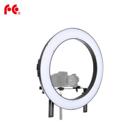 Falcon Eyes DVR 160TVC 19 inches 3200 5600K SMD LED Ring Light with Carry Bag