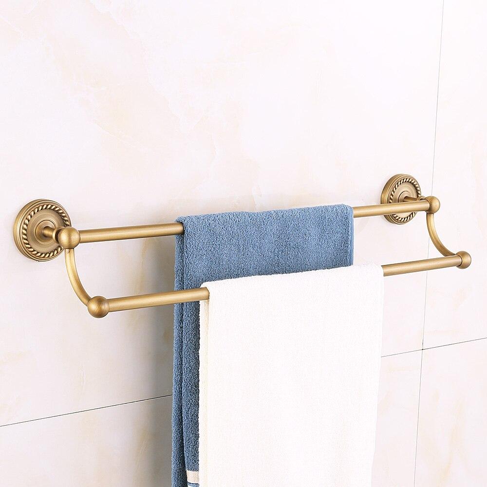 Antique Carved Bathroom Hardware Sets Solid Brass European Bathroom ...