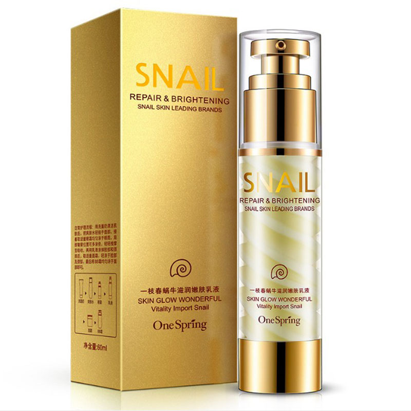 New Snail Cream Anti aging Face Cream Essence Emulsion Skin Care Acne Treatment Ageless Moisturizing Whitening
