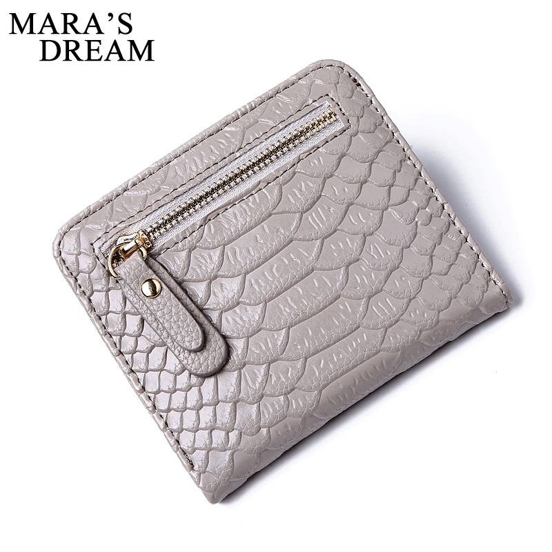 Mara's Dream Wallet Female 2018 New Lady Short Women Wallets Mini Money Purses Fold PU Leather Bag Female Coin Purse Card Holder free shipping women wallets soft pu leather bag bowknot coin purse candy color purses female handbags clutch wallet card holder