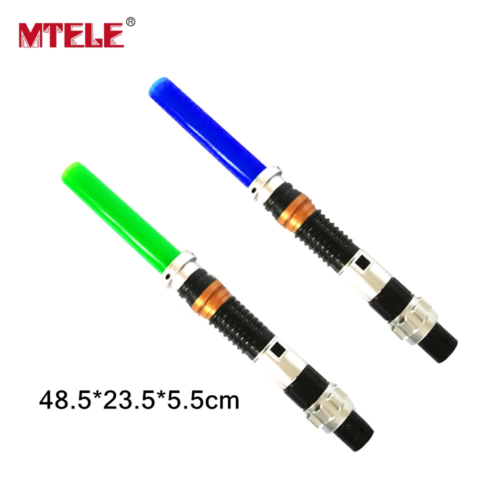 MTELE 87cm Star Wars Force Awakens Kylo Ren LED Lightsaber Scalable Cosplay Darth Vader Action Figure Toys Doll For Kids Toys
