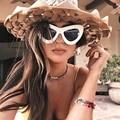 AFOFOO Модные Солнцезащитные Очки Sexy Cat Eye Солнцезащитные Очки Конструктора Тавра Винтаж Женщин Солнцезащитные Очки UV400 Солнцезащитные Очки Оттенки Óculos de sol