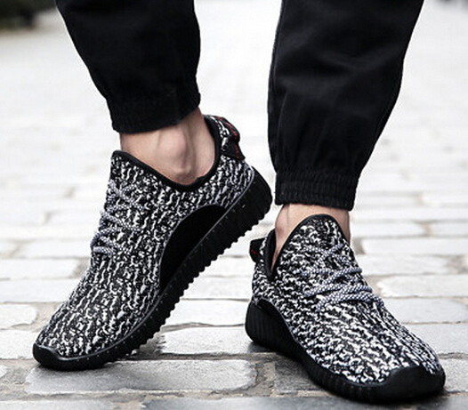 db6b4344e4 2015 hombres zapatillas de deporte moda YZY 350a hombres y mujeres  transpirable deporte zapatos mujer zapatillas