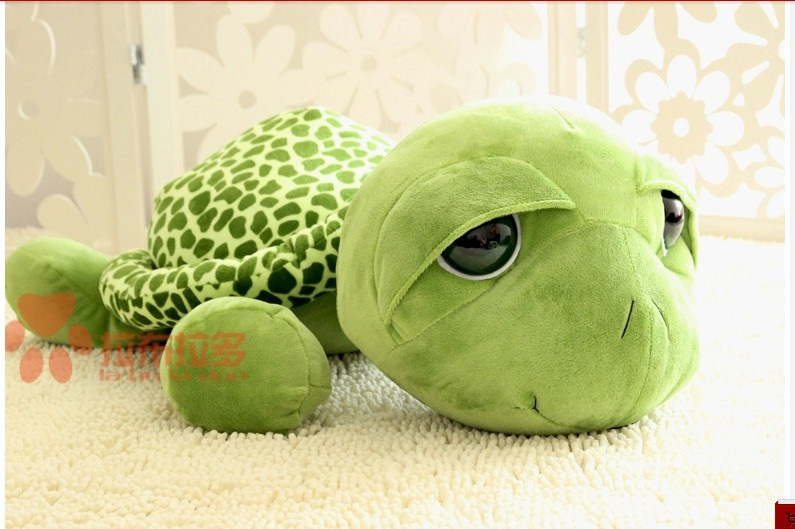 stuffed animal cute tortoise plush toy 20cm green turtle