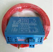Detector azul do laço do controle etc. do detector do laço do autocontrol 12v/24vdc do cabo duplo do laço de 100m 0.75mm