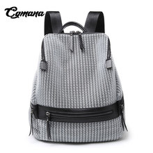 CGmana Fashion Backpack Female 2018 Summer New Korean Large Capacity Travel Anti-Theft Mother Package Mochila Feminina