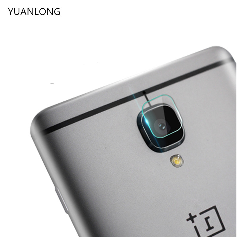 YUANLONG For Oneplus 3 3T Back Camera Lens Screen Protector Protection Tempered Glass Full Cover Coverage Film For One plus 3