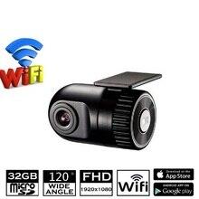 Universal Car Camera Recorder Hide DVR Recorder Mini1080P Full HD Car Camera Recorder Hide DVR Recorder WiFi Function APP