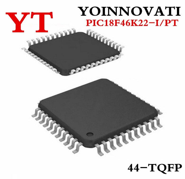 Free shipping 50 PCS PIC18F46K22 I PT 18F46K22 I PT PIC18F46K22 18F46K22 QFP44 Best quality