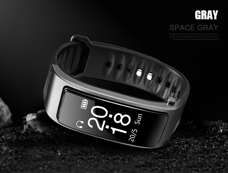 Bluetooth Y3 Headset Talk Smart band Bracelet heart rate monitor Sports Smart Watch Band Passometer Fitness Tracker Wristband (25)