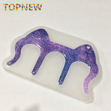 Flexible Silicone Mold Cat Ears Shaped Clips Bookmarks Piano Clamps Crafts Making for DIY Handmade Jewelry Pendant Craft Tool
