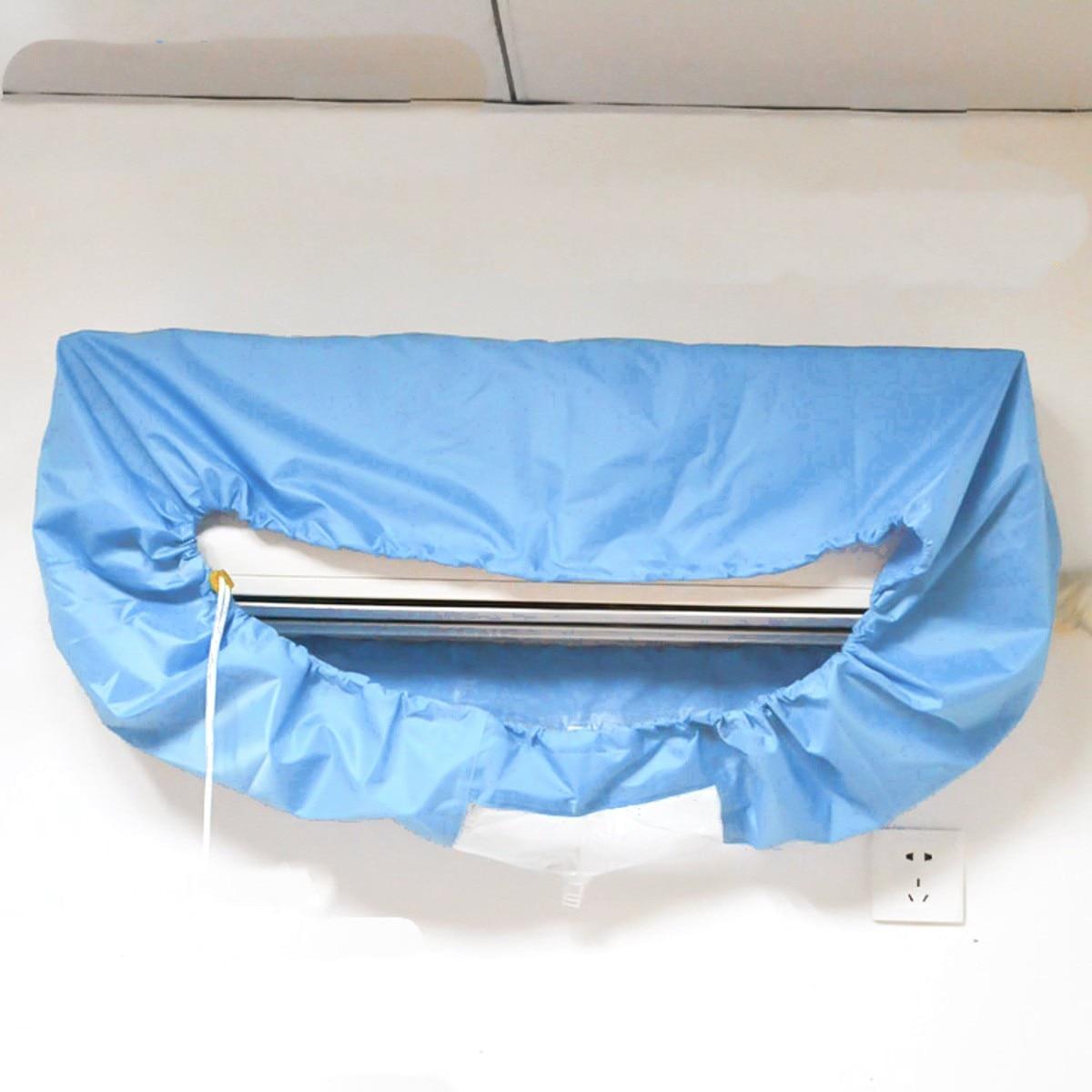 Klímaberendezés Vízálló tisztító fedél DIY mosáshoz Háztartási tisztító eszközök Vízálló Peva anyag
