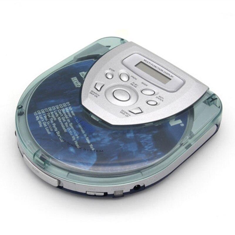 transparent cover portable cd player walkman bass boost system mini