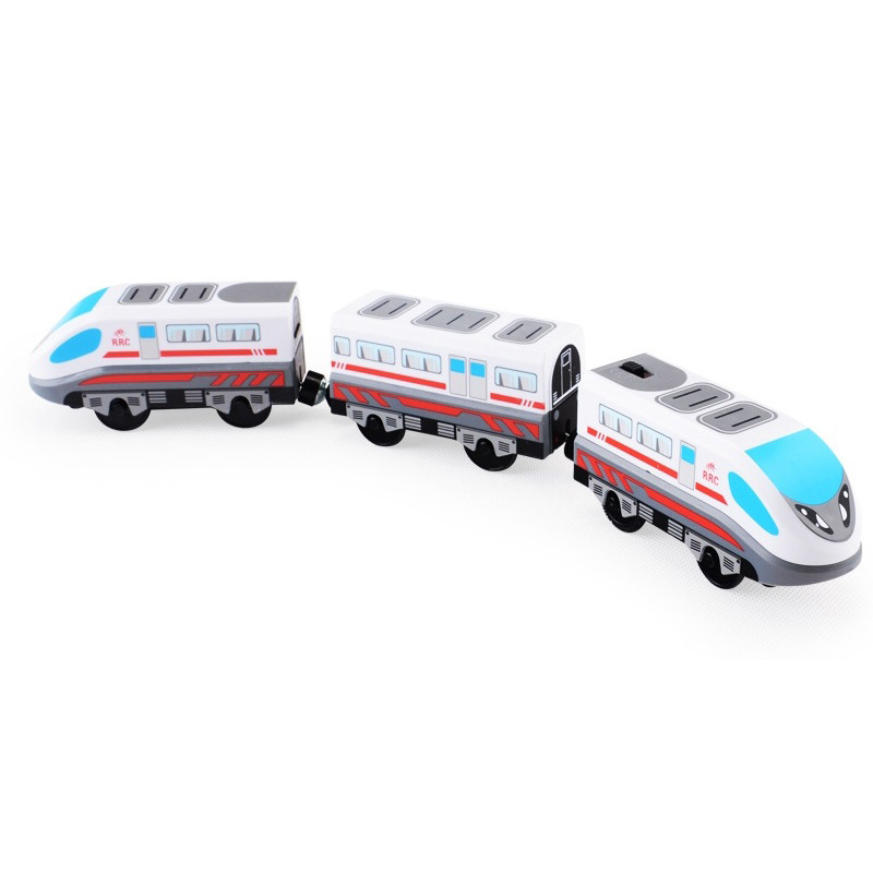 RRC EMU combination electric FIT Thomas Toy Car wooden track Brio track RRC locomotive compatible magnetic train