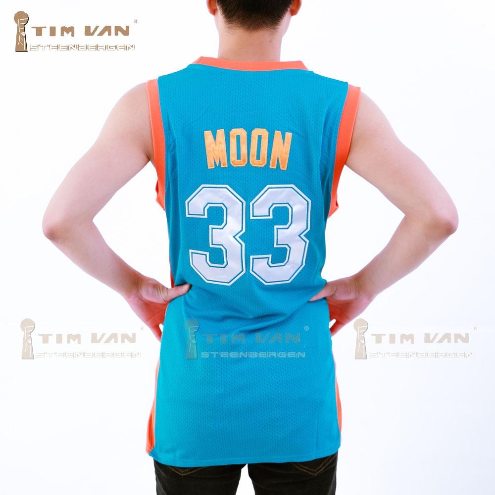 812c7306cae8 TIM VAN STEENBERGEB Jackie Moon 33 Flint Basketball Jersey All Sewn  Green-in Basketball Jerseys from Sports   Entertainment on Aliexpress.com