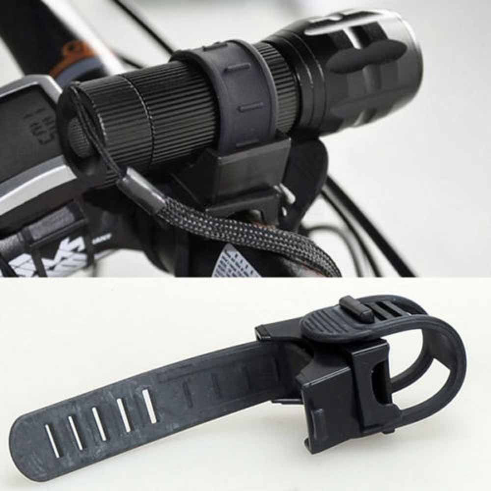 Cycling Bicycle Bike Mount Holder for LED Flashlight Phone Torch Clip Clamp LE