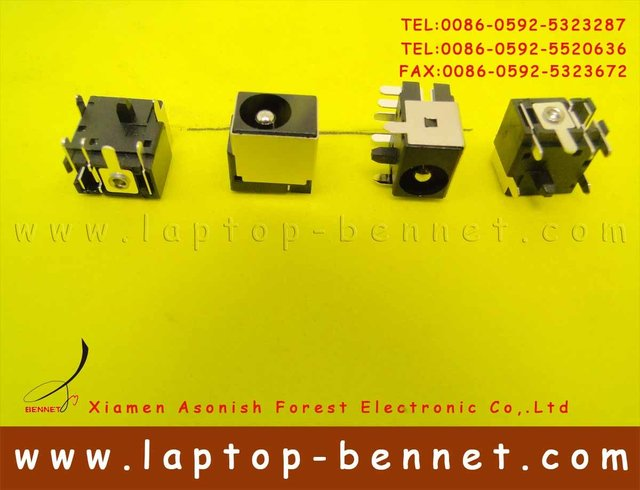 Promotion New DC Jack For Dell Inspiron 1000,B120, B130 PJ014-2.5mm