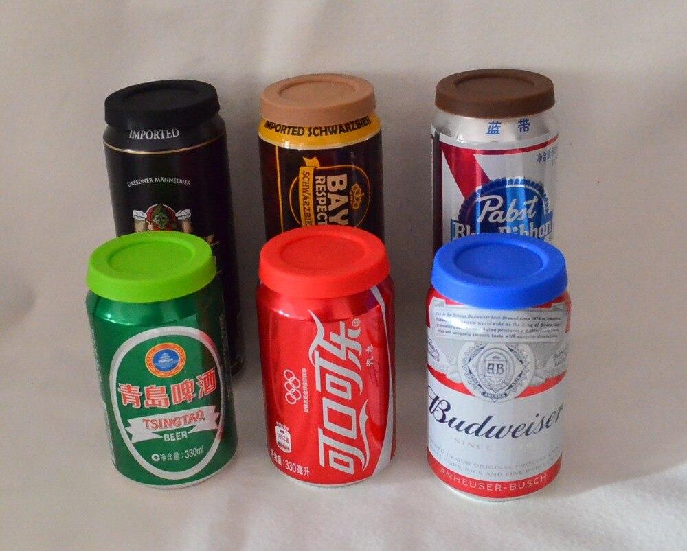 50 sztuk/partia FDA silikonowe odporne na kurz pokrywy do santiuste de san juan bautista, wielokrotnego użytku Protector Snap pokrywkami, soda piwo butelki pokrywy pokrywa w Bidony i akcesoria od Dom i ogród na  Grupa 1