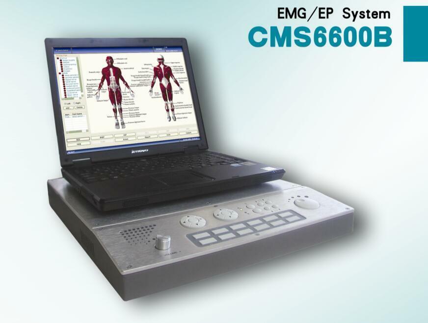 CONTEC CMS6600B EMG машина/EP система нерв мышечная биоэлектроэнергия вызванный потенциал